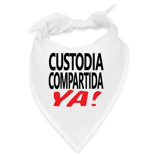 Custodia Compartida YA Negro - Bandana