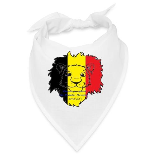 Lion supporter Belgique - Bandana
