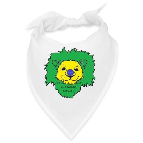 Lion supporter Brésil - Bandana