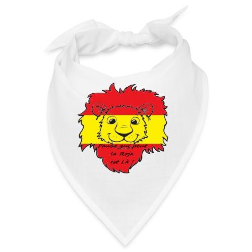 Lion supporter Espagne - Bandana