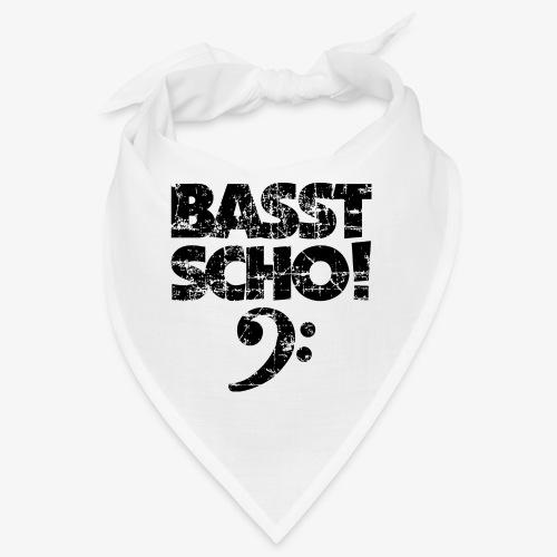 BASST SCHO! Bass Bassschlüssel Bassisten - Bandana