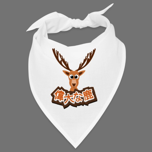 Suuri hirvi (Japani 偉大 な 鹿) - Bandana
