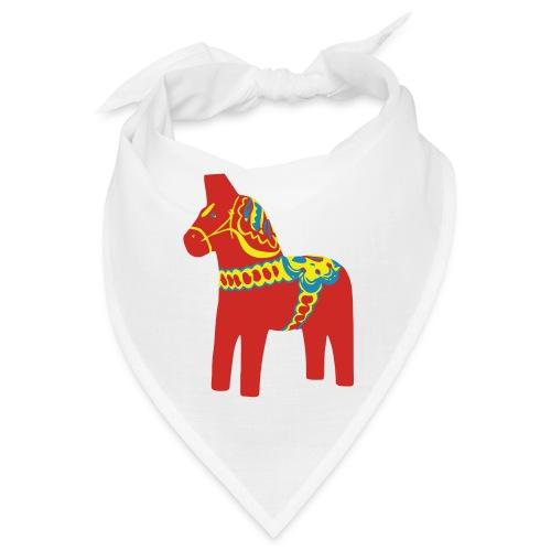Dalahäst Dalecarlian Horse Dala-Pferd. Schweden - Bandana