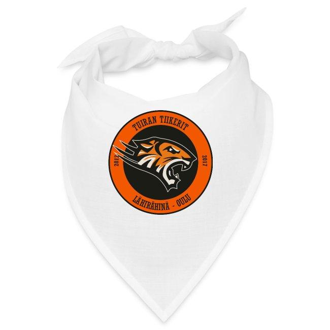 Tuiran Tiikerit, värikäs logo