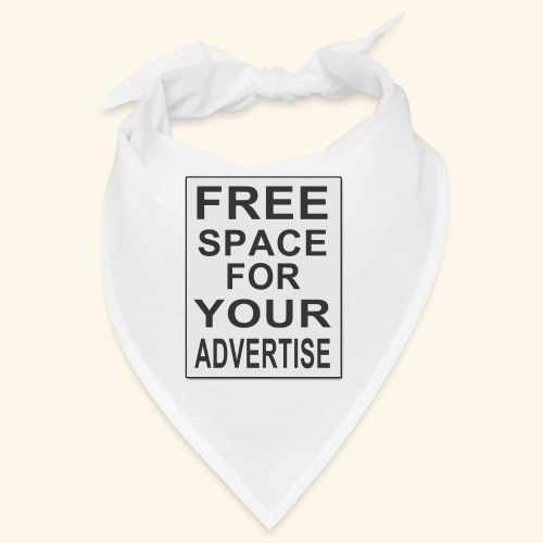 Free space for your advertise - Bandana