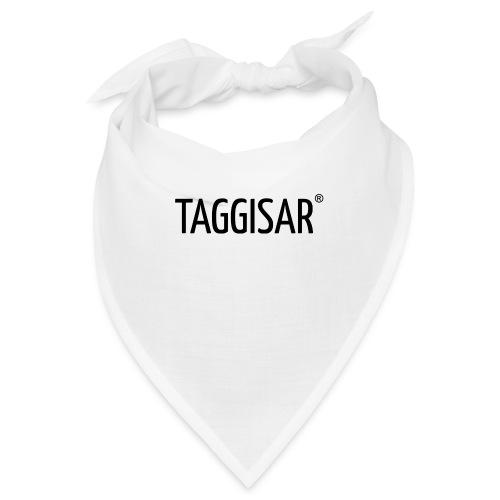 Taggisar Logo Black - Snusnäsduk