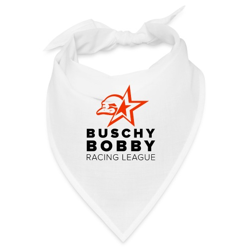 Buschy Bobby Racing League on white - Bandana