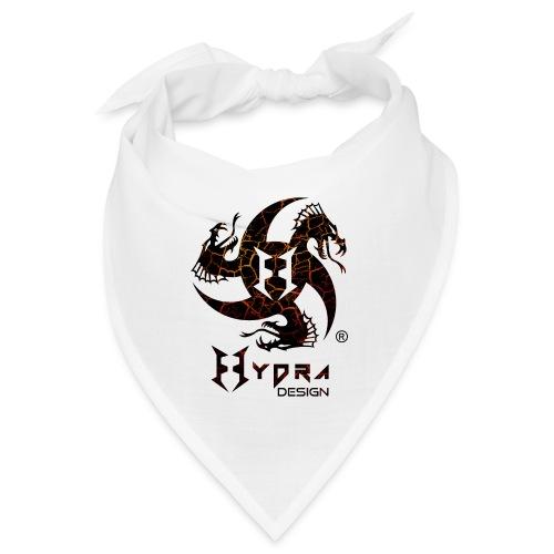 Hydra Design - logo Cracked lava - Bandana
