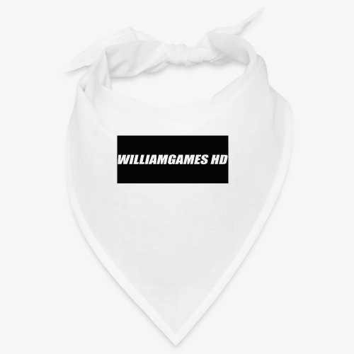 william shirt logo - Bandana