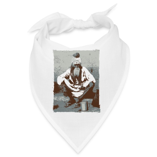 Indian holy man - Sadhu or Sādhu - Bandana