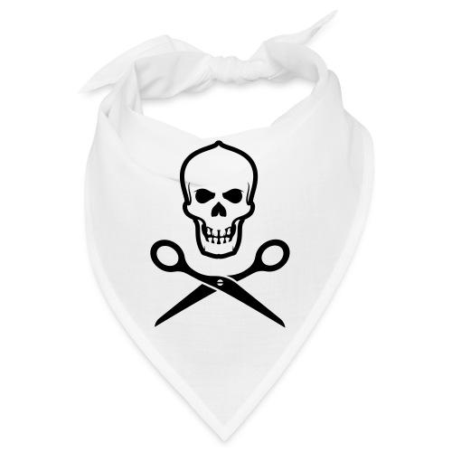 Totenkopf mit Schere - Bandana