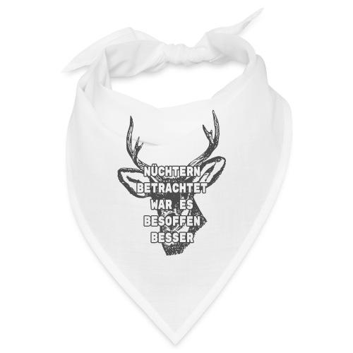 Lustiger Spruch Oktoberfest Saufen Shirt Geschenk - Bandana