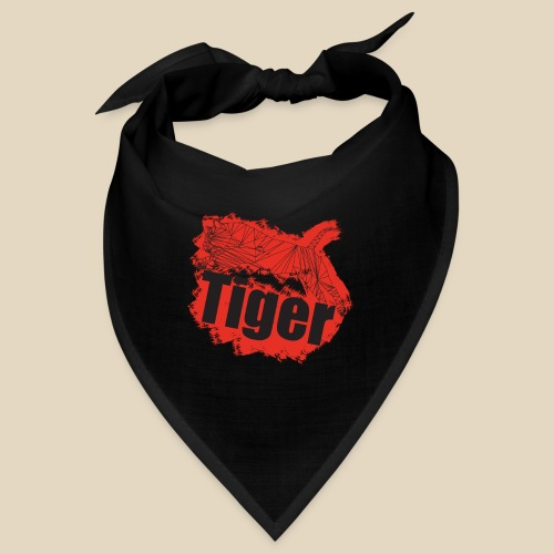 Red Tiger - Bandana