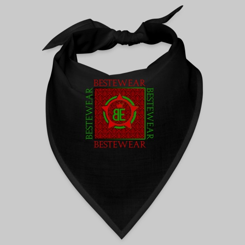 #Bestewear - Royal Line (Green/Red) - Bandana