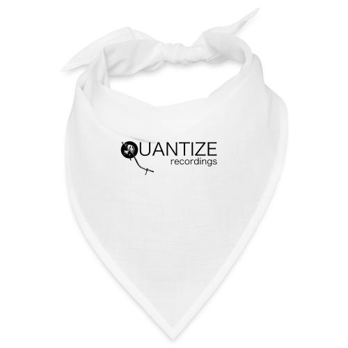 Quantize Black Logo - Bandana
