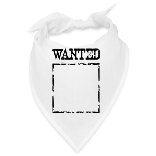 Wanted $ Boarder Frame Rahmen -> zum einschreiben - Bandana