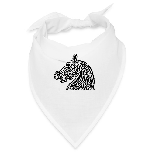 Horse - cheval tribal - Bandana