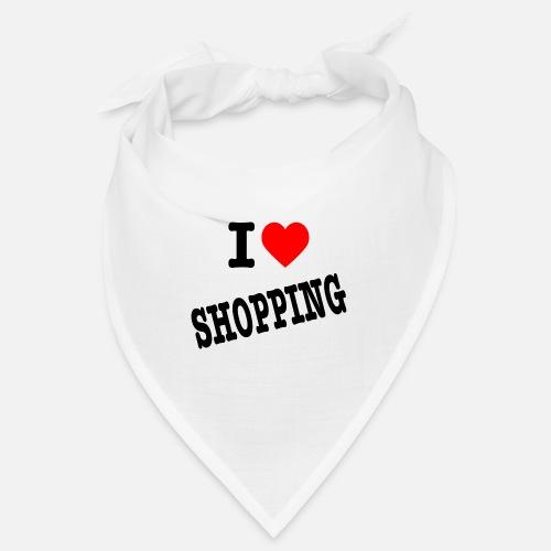 I Love Shopping (Ik Hou van Winkelen) - Bandana