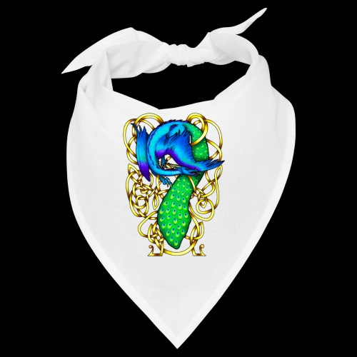 Peacock Dragon - Bandana