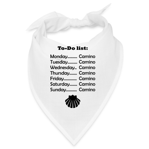 To-do list: Camino - Bandana