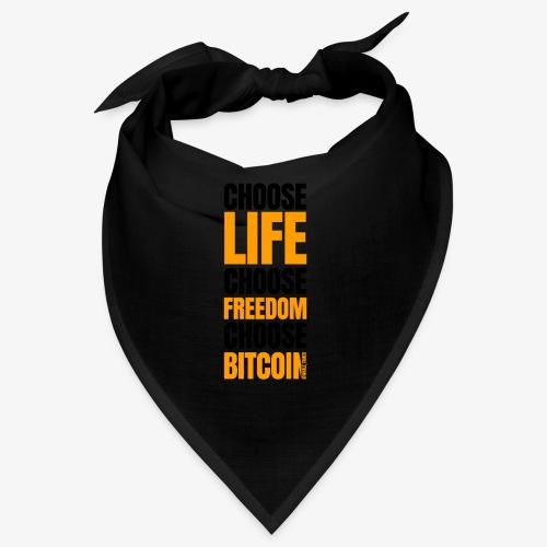 Logo choose bitcoin black 1 1 - Bandana