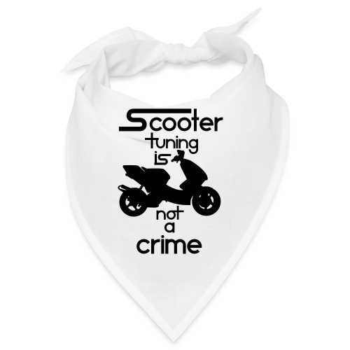 Scooter tuning is not a crime! Vol. III HQ - Bandana