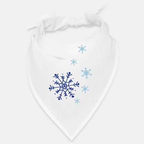 Snowflakes falling - Bandana