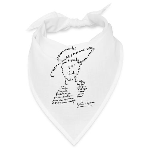 calligramme - Lou au chapeau - Bandana