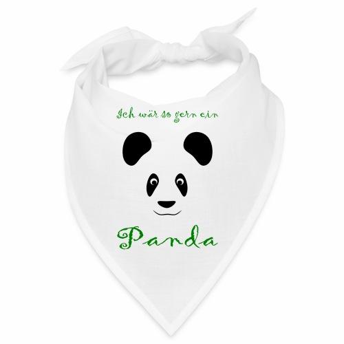 Ich wär so gern ein Panda - Bandana