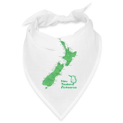 New Zealand's Map - Bandana