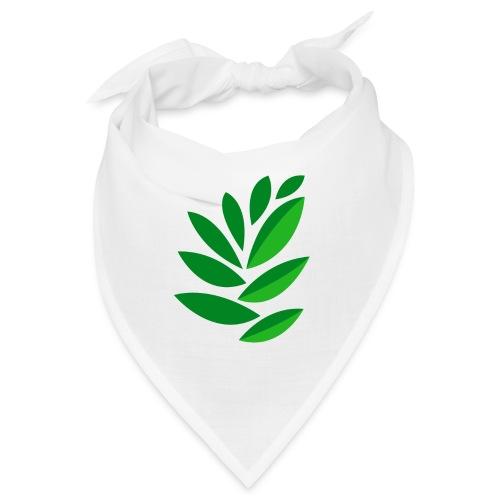 disegno foglie - Bandana