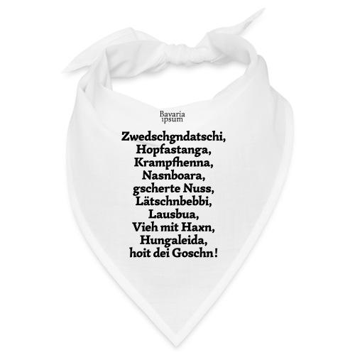 Bayrische Schimpfwörter Nr.3 - Bandana