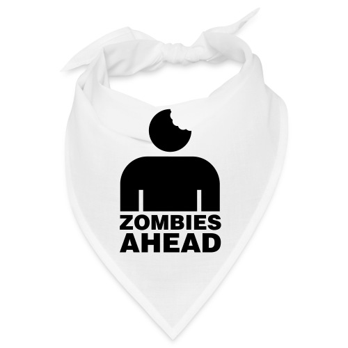 Zombies Ahead - Snusnäsduk