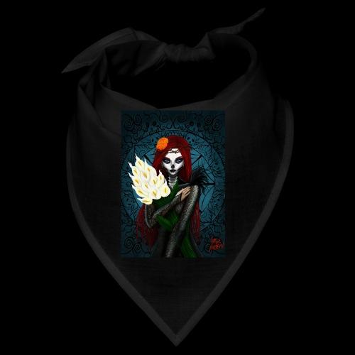 Death and lillies - Bandana