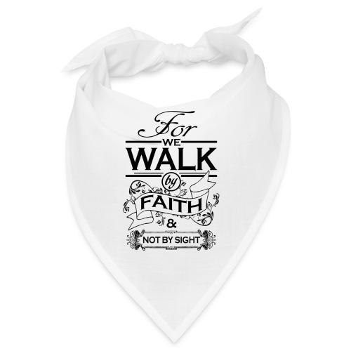 walk black - Bandana