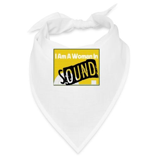 I am a woman in sound - yellow - Bandana
