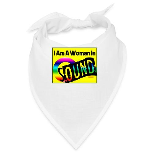 I am a woman in sound - rainbow - Bandana