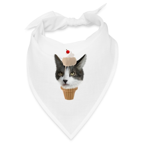 Ice Cream Cat - Bandana