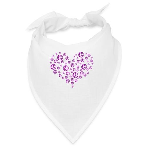 Volleyball Heart - Bandana