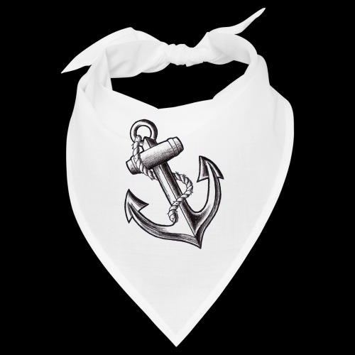 Anchor Tattoo Flash - Bandana