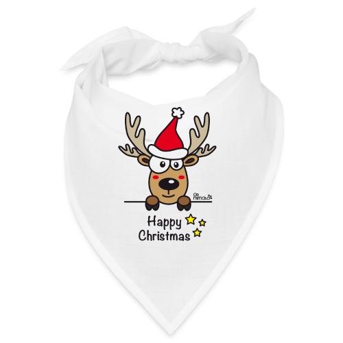 Renne Joyeux Noël - Happy Christmas, Humour, Drôle - Bandana