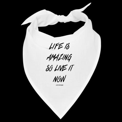 Life is amazing Samsung Case - Bandana