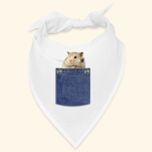 hamster in the poket - Bandana