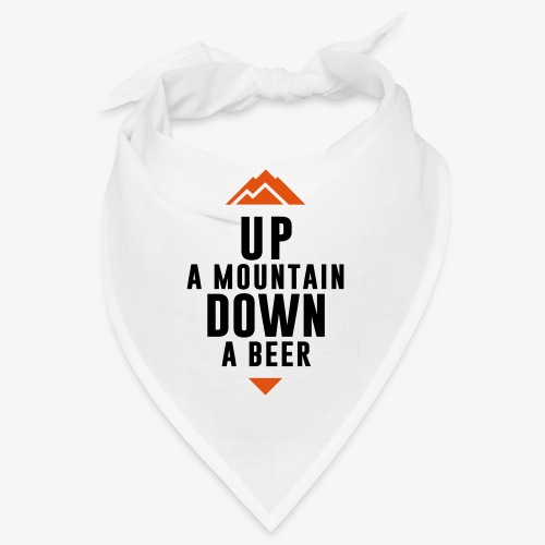 UP Mountain Down Beer - Bandana
