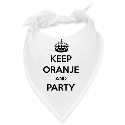 KEEP ORANJE AND PARTY - Bandana