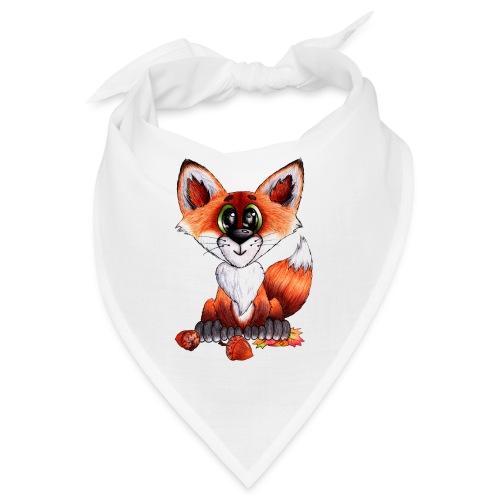 llwynogyn - a little red fox - Bandana