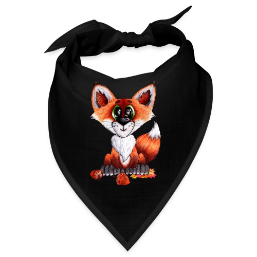 llwynogyn - a little red fox - Bandana