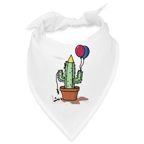 Flowercontest cactus party - Bandana