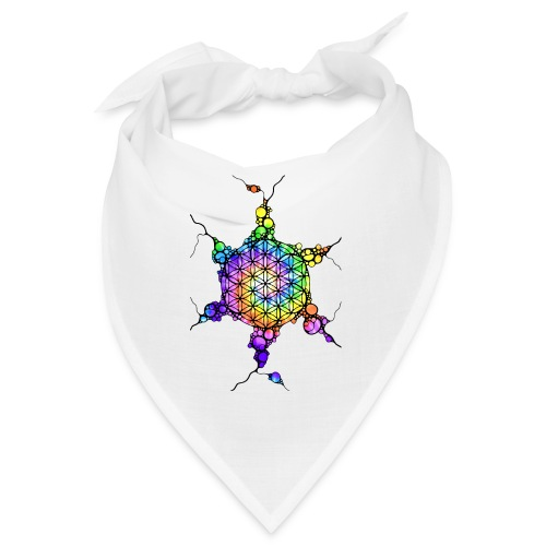 Flower Of Life Neuro Art 3 - Bandana