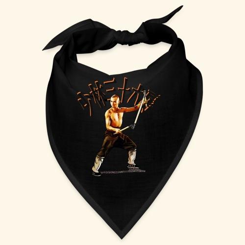 Shaolin Warrior Monk - 3 Section Staff - Bandana